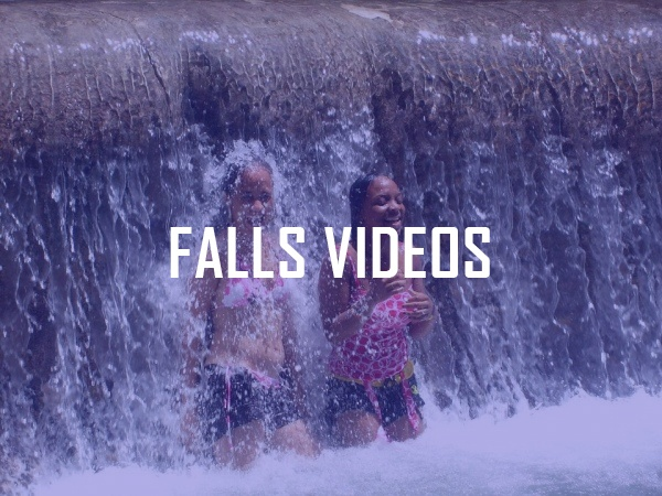 Videos of the Falls and people climbing
